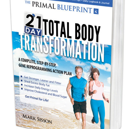 New Book: The Primal Blueprint 21-Day Total Body Transformation