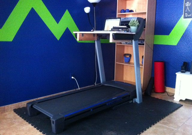 Build A TreadDesk For Less Than 20 Bucks